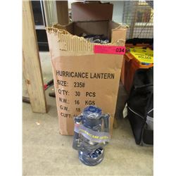 Case of 30 New Hurricane Lamps