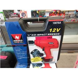 "New 1/2"" Drive Cordless Impact Wrench"