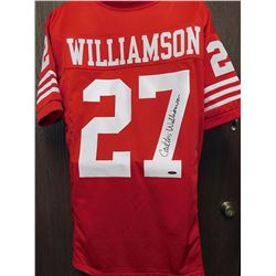 Carlton Williamson Signed Jersey