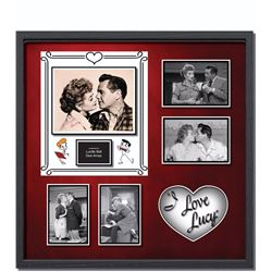 I Love Lucy Signed Photo Collage