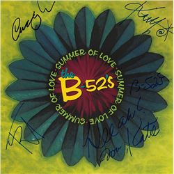 The B52s Band Signed B52s Summer Of Love Album