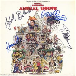 Animal House Cast Signed Movie Soundtrack Album