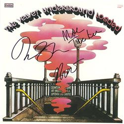 Velvet Underground Band Signed Loaded Album