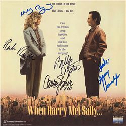 When Harry Met Sally Cast Signed Movie Laserdisc Album