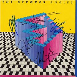 The Strokes Band Signed Angles Album