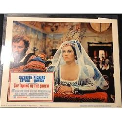"Elizabeth Taylor ""The Taming of the Shrew"" Signed Lobby Card"