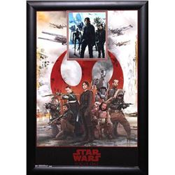 Star Wars: Rogue One Signed Movie Poster