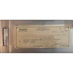 PSA/DNA Roy Rogers Signed Check