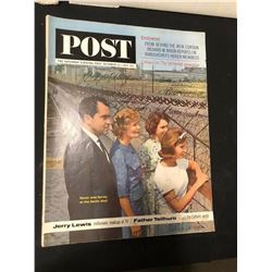 Richard Nixon and Family Signed Saturday Evening Post