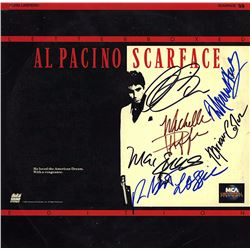 Scarface Cast Signed Movie Laserdisc Album