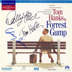 Forrest Gump Cast Signed Movie Laserdisc Album