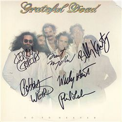 "Grateful Dead Band Signed ""Go To Heaven"" Album"