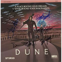 Dune Cast Signed Movie Laserdisc Album