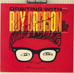 Roy Orbison Signed Orbiting With Roy Orbison Album