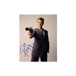 Pierce Brosnan Signed James Bond Photo