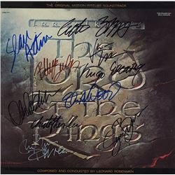 Lord Of The Rings Cast Signed Movie Soundtrack Laserdisc Album