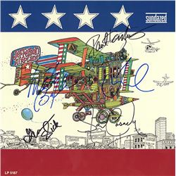 Jefferson Airplane Band Signed After Bathing At Baxter's Album