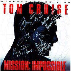 Mission Impossible Cast Signed Movie Laserdisc Album