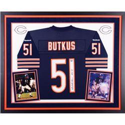 Dick Buktus Signed Bears Jersey