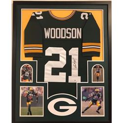 Charles Woodson Signed Packers Jersey