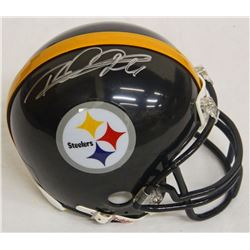 Rod Woodson Signed Steelers Riddell Replica Mini Helmet