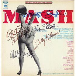 M*A*S*H* Cast Signed Movie Soundtrack Album
