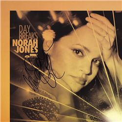Norah Jones Signed Day Breaks Album