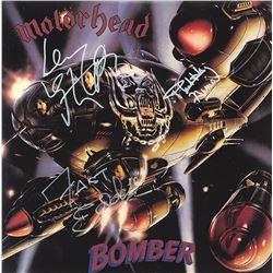 Motorhead Band Signed Bomber Album