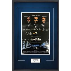 Goodfellas Ray Liotta Signed Mini Poster