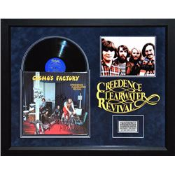 """Creedence """"Cosmo's Factory"""" Signed Album collage"""