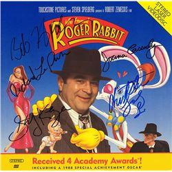 Who Framed Roger Rabbit Cast Signed Movie Laserdisc Album