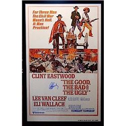 The Good, The Bad and The Ugly signed Poster
