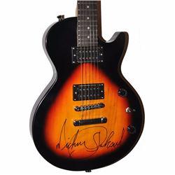 Michael Jackson Signed Blackened Sunburst Classic Style Guitar