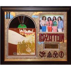 Led Zeppelin signed Album Collage