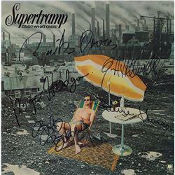 Supertramp Band Signed Crisis? What Crisis? Album