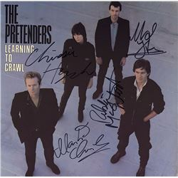The Pretenders Band Signed Learning To Crawl Album