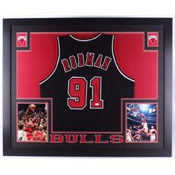 Dennis Rodman Signed Bulls Jersey