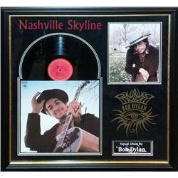 """Bob Dylan """"Nashville Skyline"""" Signed Album Collage"""
