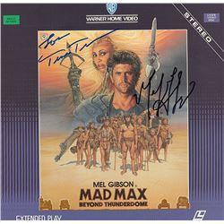Mad Max Beyond Thunderdome Cast Signed Movie Laserdisc Album