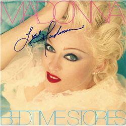 Madonna Signed Bedtime Stories Album