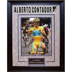 Alberto Contador Signed Photo