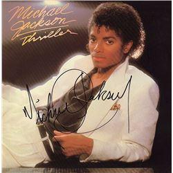 """Michael Jackson Signed """"Thriller"""" Album"""