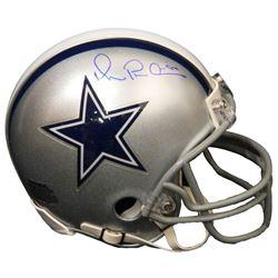 Michael Irvin Signed Dallas Cowboys Riddell Mini Helmet