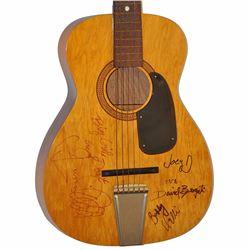 4 Seasons Band Signed Citation Vintage Acoustic Guitar