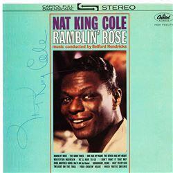 Nat King Cole Signed Ramblin' Rose Album