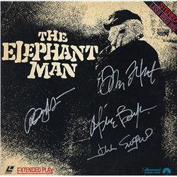 The Elephant Man Cast Signed Movie Laserdisc Album