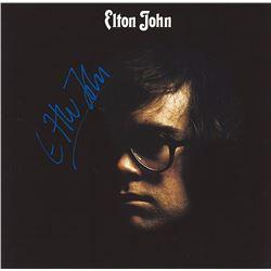 Elton John Signed Self Titled Album