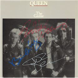 """Queen Band Signed """"The Game"""" Album"""