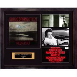 """Bruce Springsteen """"Nebraska"""" 1982 Signed Album"""