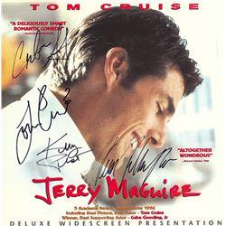 Jerry Maguire Cast Signed Movie Laserdisc Album